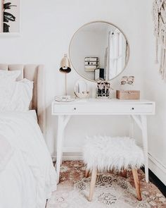 Dressing table, potential work space