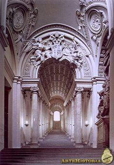 image of scala regia   Palacios Vaticanos (Roma). Scala Regia - Obra - ARTEHISTORIA V2