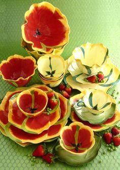Céramiques tulipes, Mustardseed & Moonshine (Afrique du Sud)