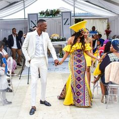 Tsonga Traditional Dresses, African Traditional Wedding Dress, Weeding, African Fashion, Beautiful, Ideas, Grass, Weed Control, African Fashion Style