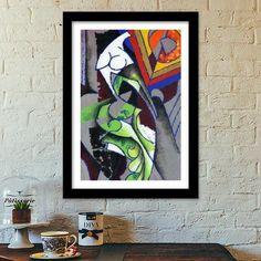 Contemporary Modern Art Premium Italian Wooden Frames | Artist : Rupam Shah