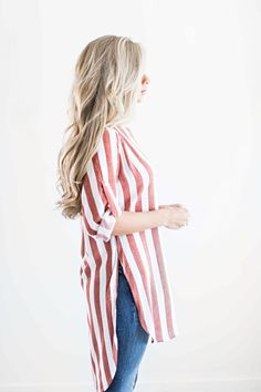stripes, striped tunic, fall style, fall outfit, womens fashion, shop jessakae