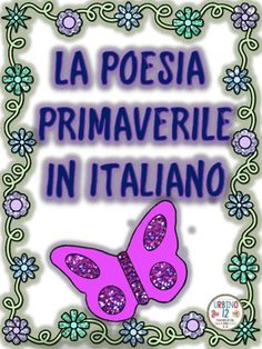 Felice Primavera! Have your beginning L2 Italian students write a beautiful spring poem!File includes: cover pageGuided writing model with suggested vocabulary to write a  simple five line (Cinquain) poem in ItalianFive different spring themed writing templates -four in color and one in black and whiteAdditional resource on this topic:A PrimaveraI hope this product is useful to you and your students.