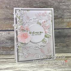 New video tutorial posted for how to create this gorgeous card using Stampin' Up!'s First Frost Stamp Set! New video tutorial posted for how to create this gorgeous card using Stampin' Up!'s First Frost Stamp Set! Making 10, Making Ideas, Wedding Anniversary Cards, Wedding Cards, Happy Anniversary, Fireworks Craft, Stampin Up Karten, Stamping Up Cards, Card Maker