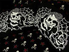 Hells Blankets  Skulls and Roses Pillowcase Set $29.95