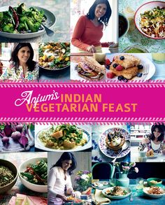 Lemony spinach and vegetable hot pot recipe from Anjum's Indian Vegetarian Feast by Anjum Anand | Cooked