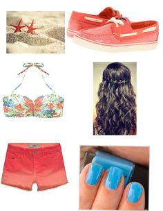 """""""beach outfit #2"""" by oslerkat on Polyvore"""