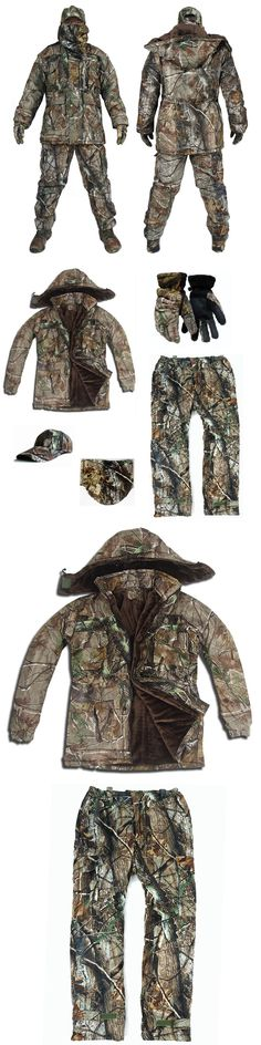 Ghillie Suits 177870: Men Winter Tactical Clothing Waterproof 5Pcs Military Camouflage Hunting Clothes -> BUY IT NOW ONLY: $135 on eBay!