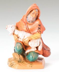 5 Inch Scale Jeremiah by Fontanini Fontanini Nativity, The Nativity Story, Animals For Kids, Fig, Worship, This Is Us, Roman, Christmas Crafts, Hand Painted
