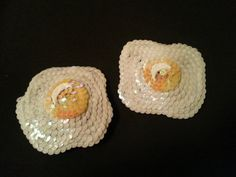 Items similar to fried egg nipple pasties on Etsy