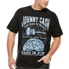 jcp   Hybrid Cash is King Graphic Tee - Big & Tall