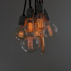 vintage style squirrel cage light bulb by dowsing & reynolds | notonthehighstreet.com