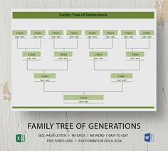 Are you about to create your family tree? Well, you might want to distribute the family tree for all your siblings during a family re-union as a precious keepsake. Family Reunion Games, Family Games, Family Reunions, Group Games, Memorandum Template, Blank Family Tree Template, Zoo Animal Coloring Pages, Memo Template, Family Tree Maker