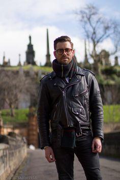 thousandyardstyle:  Glasgow Graveyards, Glasgow Street Style