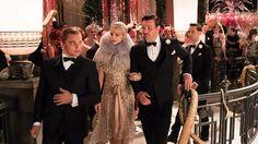 Leonardo Di Caprio in The Great Gatsby / Great White Shark Style