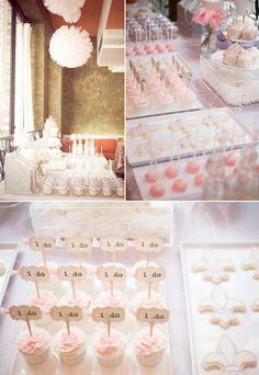 Bridal Shower Basics - Wedding Shower Food. http://memorablewedding.blogspot.com/2013/11/bridal-shower-basics.html
