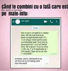 la sn e si mai si😅 Funny Text Messages, Funny Texts, Ale, Humor, Memes, Boys, Quotes, Crushed Stone, Baby Boys