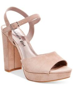 Madden Girl Sharpe Block-Heel Platform Sandals | macys.com