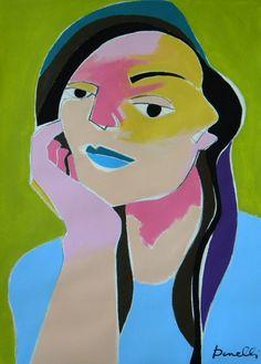 Ritratto di ragazza. Portrait of girl. 2016. Gabriele Donelli
