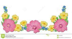 dog-roses-primroses-forget-me-nots-flower-border-bouquet-wild-flowers-including-rose-primrose-48489835.jpg (1300×703)