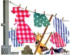 Plan59 :: 1940s Illustration :: Quadriga Cloth