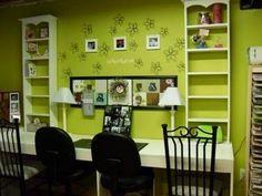 Multi station work center desk or craft area