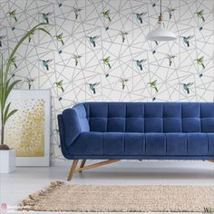 Ever dreamed of a tropical lifestyle? Bright, bold hummingbirds in flight adorn this fun and vivid geometric wallpaper. . . ✨Use IGCODE20 to avail 20% discount.✨ . . . #greywallpaper #greyinterior #boldwallpaper #brightenmywall #hummingbirdwallpaper #tropicalinteriors #animalprint #livingroomrenovation #bedroomrenovation #kitchenrenovation #diningroomrenovation #bathroomrenovation #interiorrenovation #interiordesign #interiordesigner #interiordesigning #interiordetails #interiordesignideas Boys Bedroom Paint, Girls Bedroom Colors, Boys Bedroom Decor, Girl Bedroom Designs, Bold Wallpaper, Geometric Wallpaper, Hummingbird Wallpaper, White Backdrop, Man Room