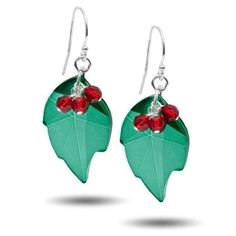 Holiday Holly Earring Kit