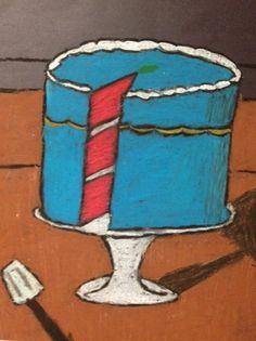 ARTipelago: 5th grade Wayne Thiebaud cakes