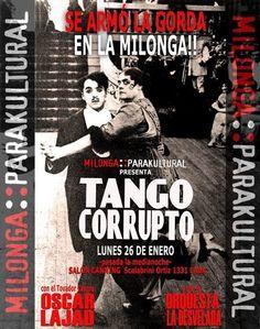 Tango Corrupto en Milonga Parakultural