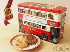 Walkers アソートビスケット ロンドンバス缶