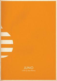 Minimal movie posters - Juno