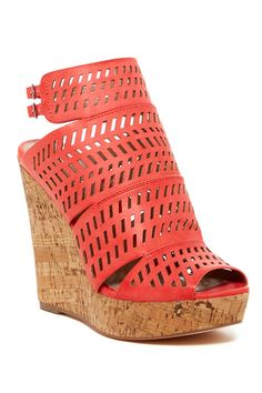 Apt Ankle Strap Wedge Platform by Charles By Charles David on @nordstrom_rack