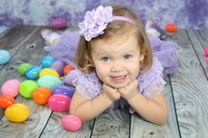 Easter picture idea for toddlers.