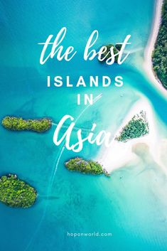 What are the best islands in Asia to visit? Looking to escape the busy streets of Asia? We've got just the answer. Discover the best islands in Asia which should be on your island hopping bucket list. Sri Lanka, Vietnam, Taiwan, Destin Beach, Beach Trip, Beach Travel, Strand Thailand, Laos, Bangkok