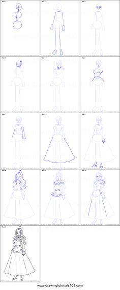 How to Draw Mirajane Strauss from Fairy Tail step by step printable drawing sheet to print. Learn How to Draw Mirajane Strauss from Fairy Tail Fairy Tail Drawing, Fairy Drawings, Cool Drawings, Step By Step Sketches, Sketches Tutorial, Step By Step Drawing, Drawing Sheet, Manga Drawing, Drawing Tips