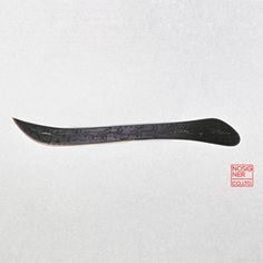 Nosigner - hand embossed knives to look like traditional Chinese calligraphy characters