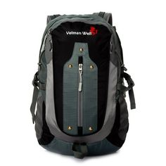 Veiman Well Shoulders Outdoor Sport Climbing Unisex Backpack Bag Grey >>> See this great product.(This is an Amazon affiliate link and I receive a commission for the sales)