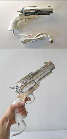 A cool hair dryer.