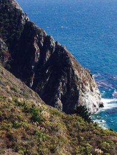 teal waters of Big Sur, California --photoblog