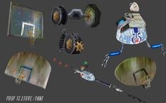 Meatballs 2, Prop Design, Visual Development, Environment Design, Animation, Texture, Illustration, Artist, Painting