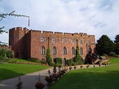 Shrewsbury Castle (Shrewsbury, Shropshire, England) was originally an Anglo-Saxon timber fortification, guarding the only dry-shod approach to the town. The Norman castle, built of red sandstone, was founded by Roger de Montgomery in c1070.