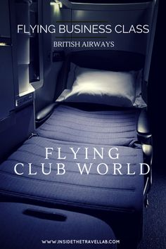 Flying Business Class with British Airways. Club World cabin in Review via @insidetravellab