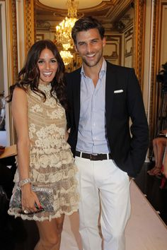 Olivia Palermo & Johannes Huebl...cute couple alert! always well dressed too