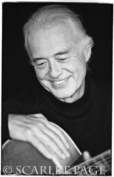 Jimmy Page by Scarlet Page - awesome photo! 2015