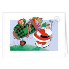 Image result for golfers christmas address labels