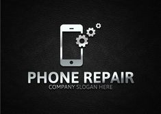 Phone Repair by Josuf Media on Mobile Phone Logo, Mobile Phone Shops, Mobile Shop, Visiting Card Design, Computer Basics, Phone Store, Bussiness Card, Iphone Repair, Unique Logo