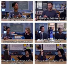 Pierce got to them.even after death. Community Series, Community Tv Show, Community College, Funny True Quotes, Funny Memes, Jokes, Haha Funny, Hilarious, The Mindy Project
