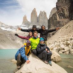 Our Wildlife Safari guides on one of the most stunning viewpoints in Torres del Paine NP : The towers' base lookout. Pic : @timothydhalleine @machu._ #Travel #Chile #Travelgram #Traveldaily #Hiking #Landscape #Nature #Trekking #Mountains #Climbing #Southamerica #Traveltheworld