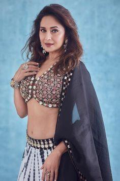 Lehenga Online Shopping, Fashion Photo, Girl Fashion, Madhuri Dixit Hot, Beautiful Blonde Girl, Bollywood Stars, Dance Dresses, Buy Dress, Indian Bridal